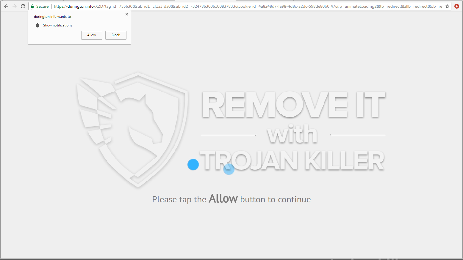 remove Durington.info virus