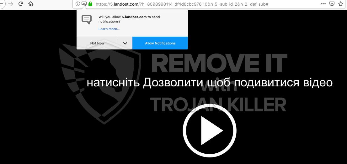 remove Landost.com virus