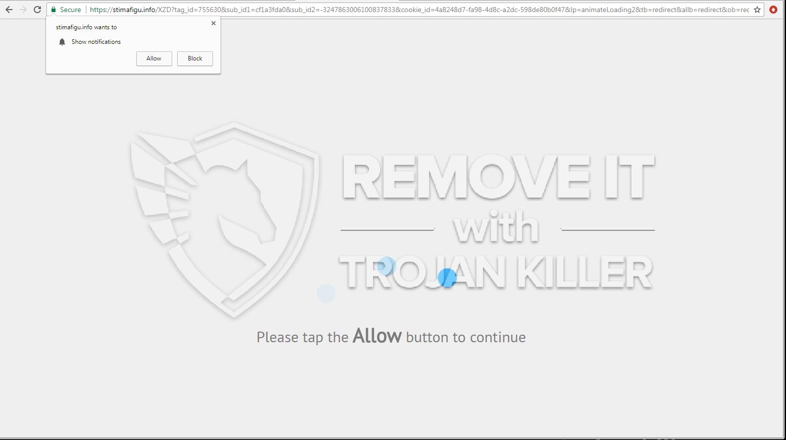 remove Stimafigu.info virus