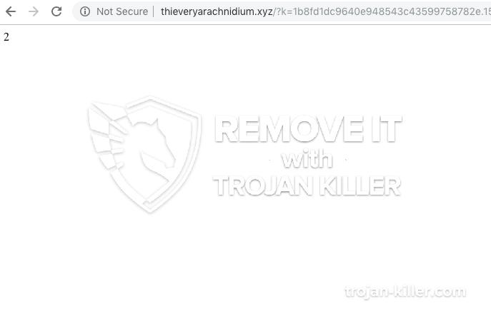 remove Thieveryarachnidium.xyz virus