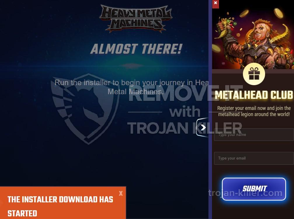 remove Play.heavymetalmachines.com virus