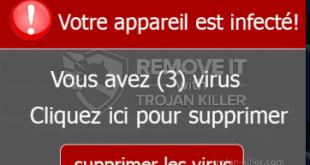 Votre appareil est infecté! pop-ups: How can I remove Votre appareil est infecté!?