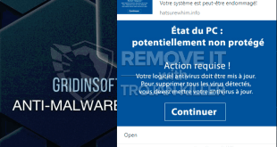 État du PC: potentiallement non protégé malwartising – how to block?
