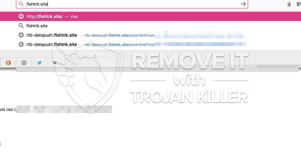 remove Flshtrk.site virus