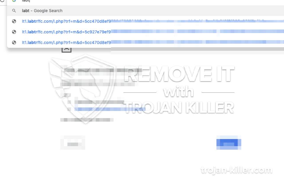 remove Labtrffc.com virus