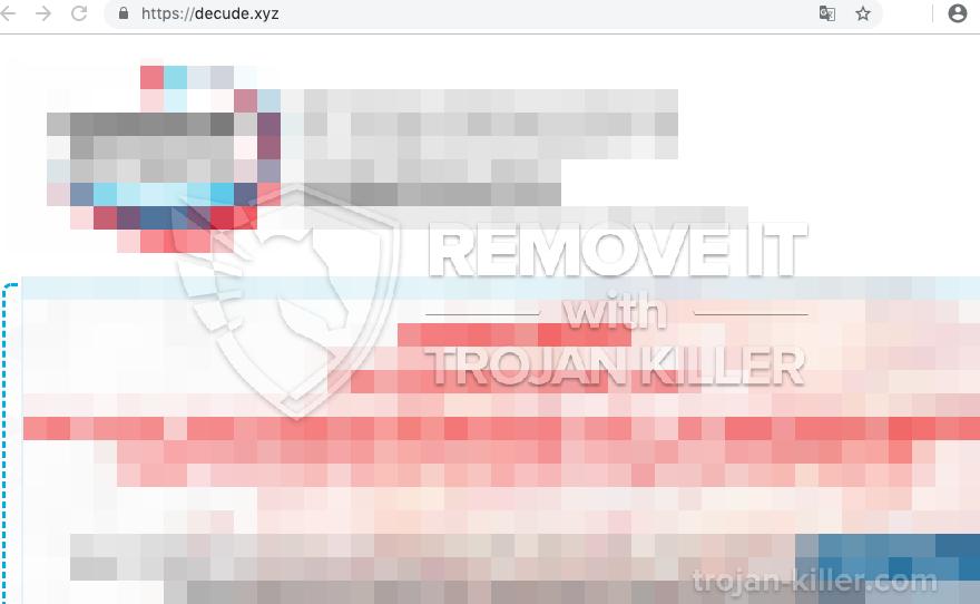 remove Decude.xyz virus