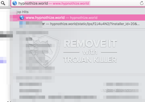 remove Hypnothize.world virus
