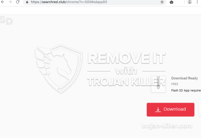 remove Searchred.club virus