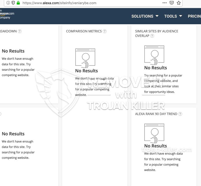 remove Veniarybe.com virus