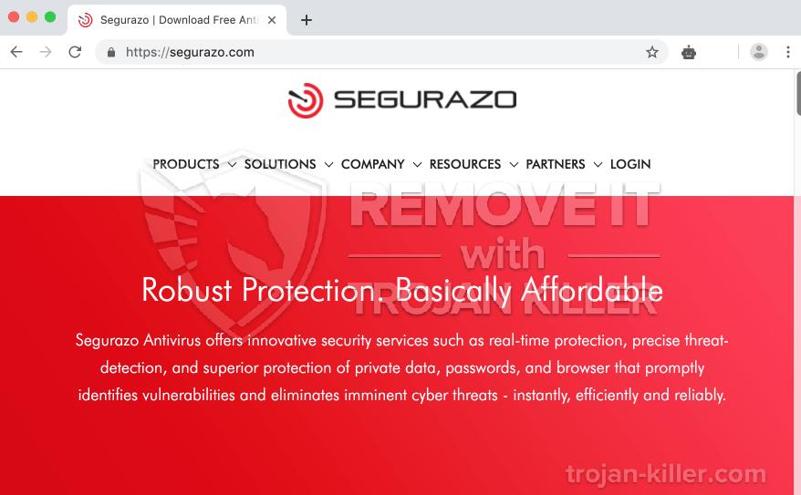 remove Segurazo.com virus