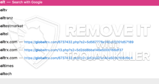 How to remove Globaltrx.com redirect [Chrome, Firefox, IE, Edge]