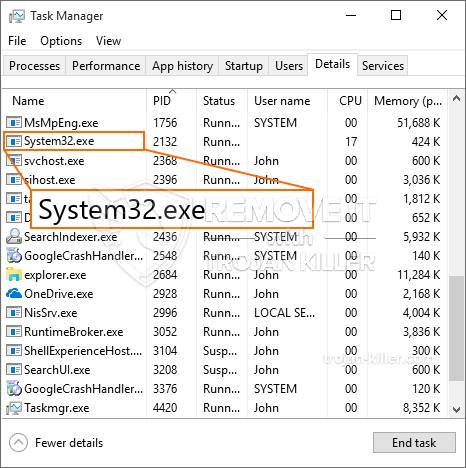 What is System32.exe?