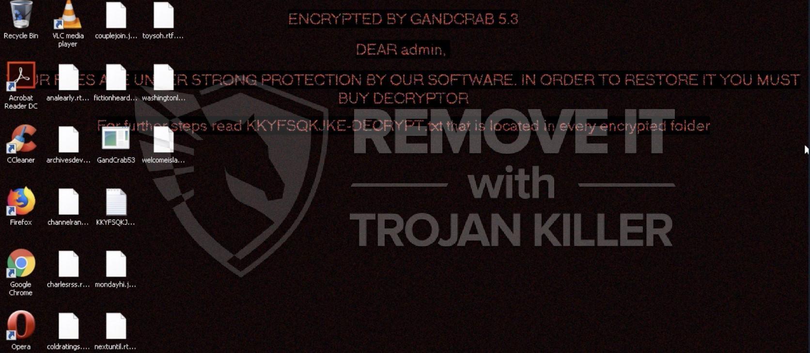 GandCrab 5.3 Virus