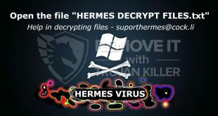 How to remove Hermes Virus Ransomware