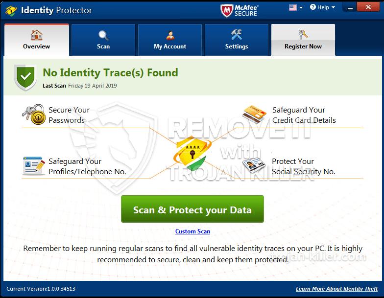 remove Identity Protector