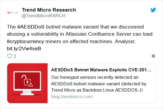 TrendMicro report on twitter