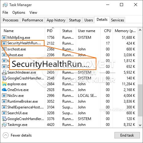 What is SecurityHealthRun.exe?