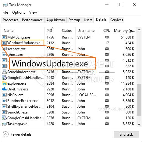 What is WindowsUpdate.exe?