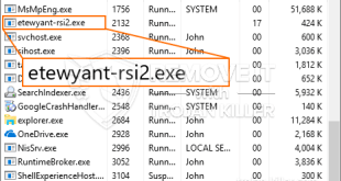 Remove Etewyant-rsi2.exe Miner Trojan