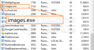Remove Images.exe CPU Miner from Windows 10