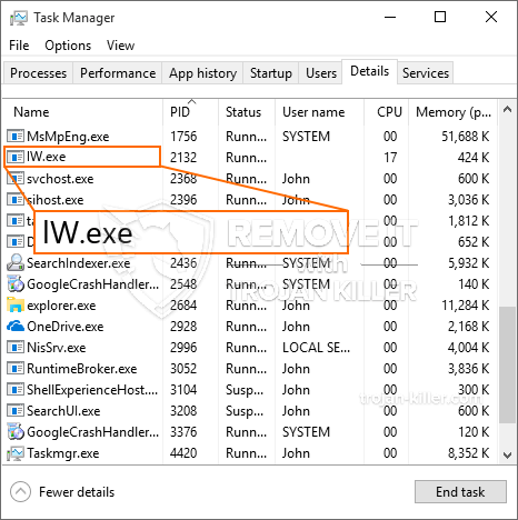 What is LW.exe?