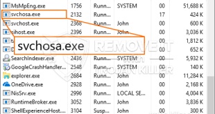 What is Svchosa.exe – Virus, Trojan, Malware, Error, Infection?