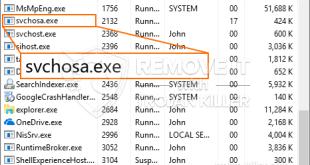 What is Svchosa.exe – Virus, Trojan, Malware, Error, Infection?
