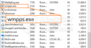 Wmpps.exe – Virus Files Removal