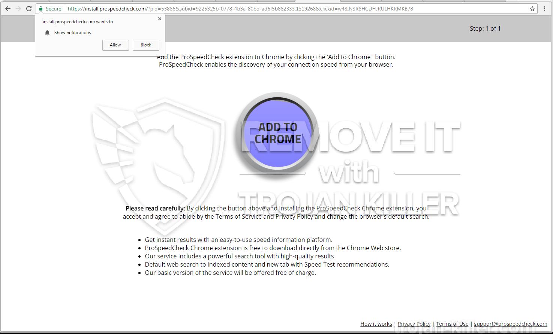 Prospeedcheck.com 바이러스