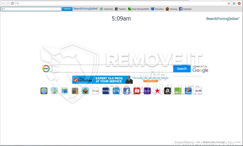 Searchformsonline.com virus