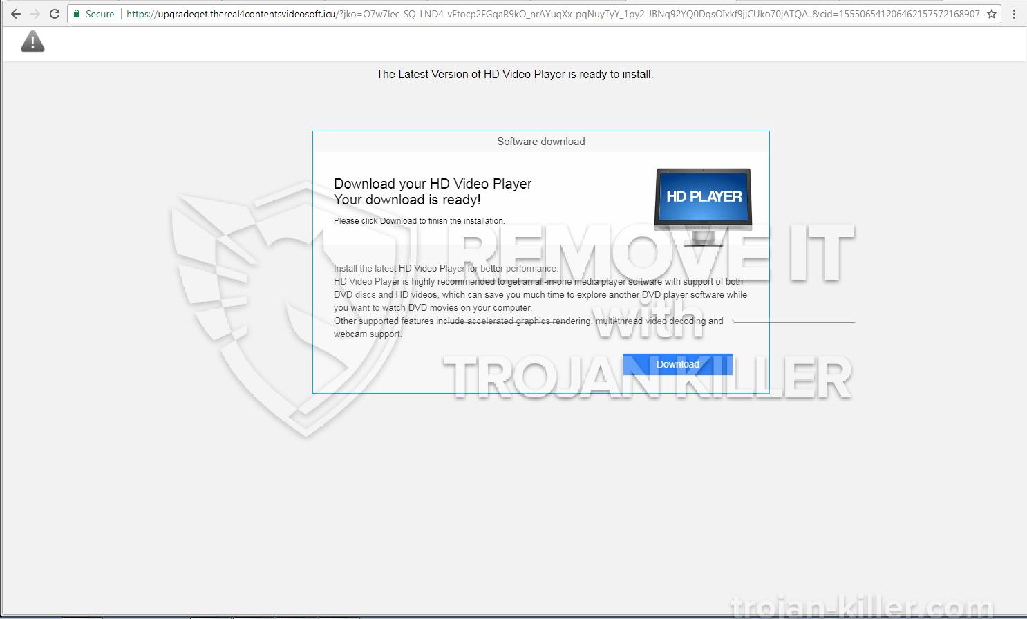 Thereal4contentsvideosoft.icu virus