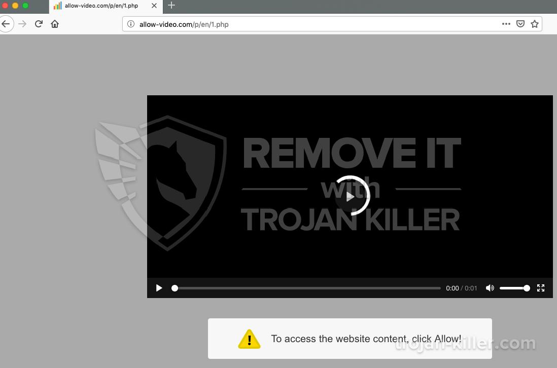Allow-video.com virus