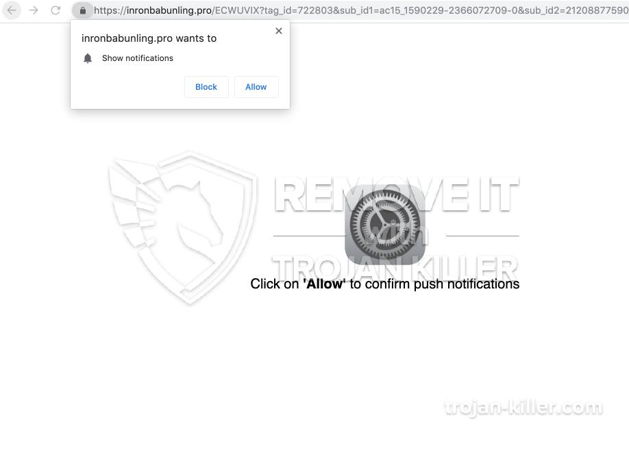 virus Inronbabunling.pro