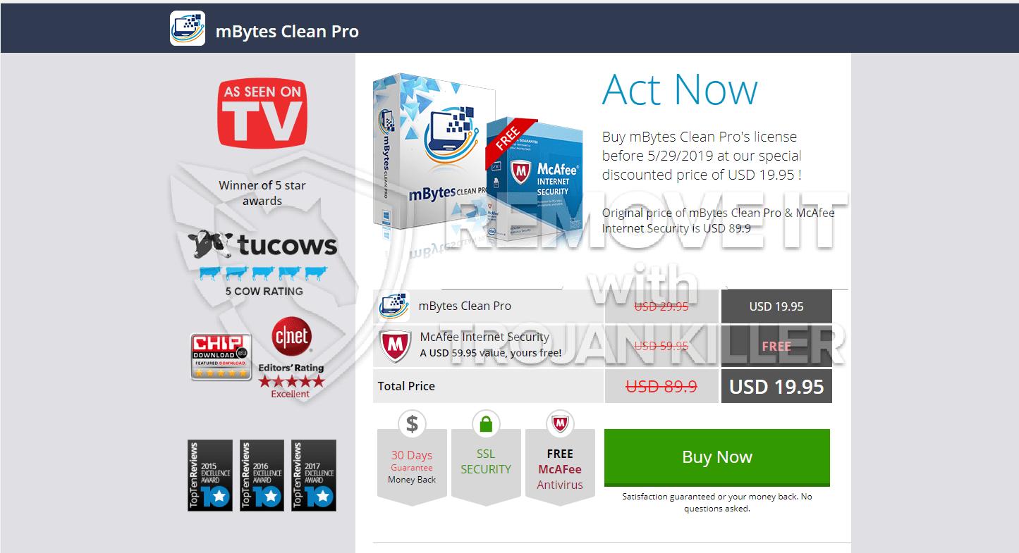 ¿Cuál es MBytes Clean Pro?