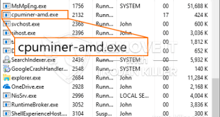 How to remove Cpuminer-amd.exe CPU Miner Trojan