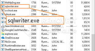 How to remove Sqlwriter.exe CPU Miner Trojan