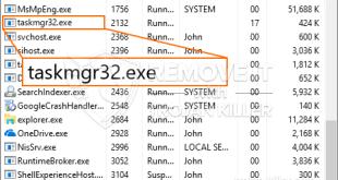 Taskmgr32.exe 광부 트로이 목마를 제거