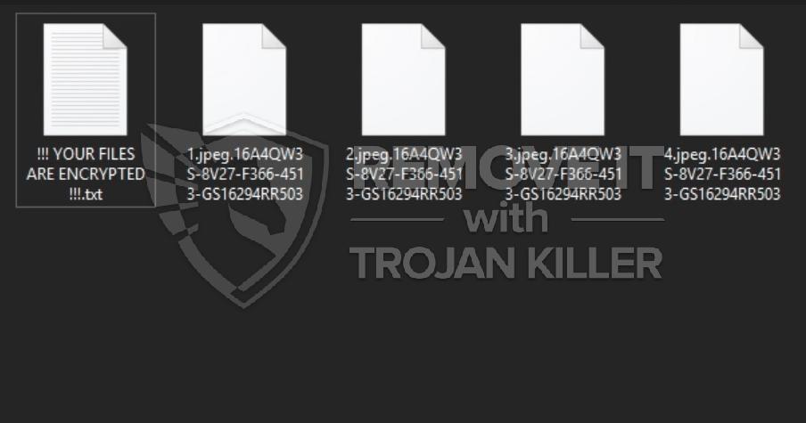 BURAN Ransomware-Virus