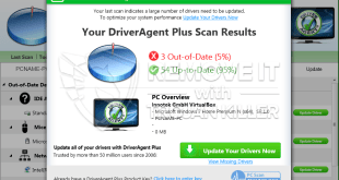 DriverAgent Plus phony optimization tool (removal guide).