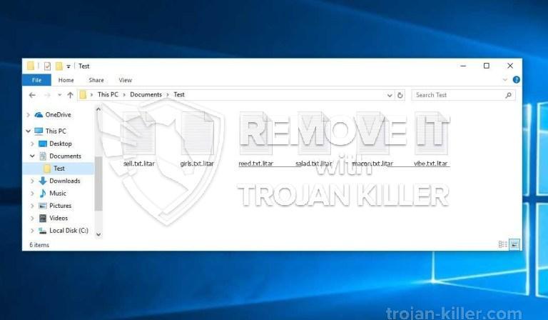 .LITAR ransomware virus