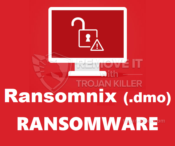 RANSOMNIX (.DMX) vírus