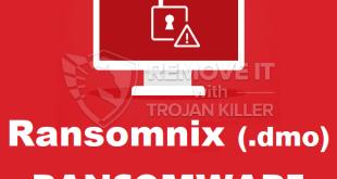 Verwijder RANSOMNIX (.dMX) virus Ransomware (+Bestandherstel)