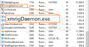 XmrigDaemon.exe Miner Virus – How to Remove It