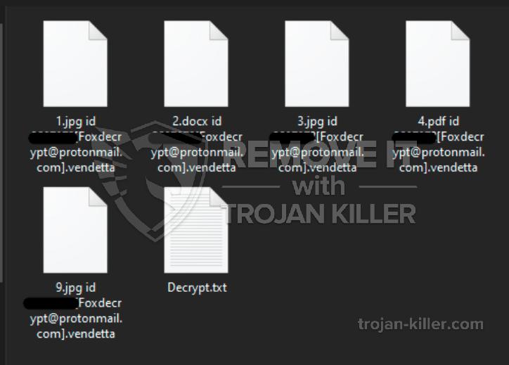 .Vendetta ransomware virus