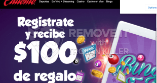 How to remove Caliente.mx casino site pop-ups?