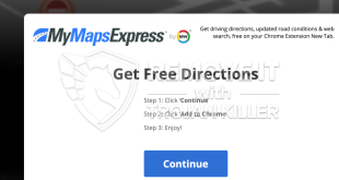 How to remove Mymapsexpress.com?