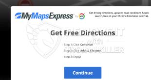 Hvordan fjerne Mymapsexpress.com?