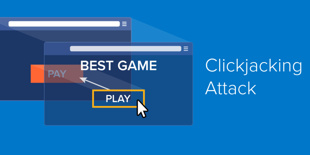 Scripts for clickjacking detected on sites with a audience of 43 million users