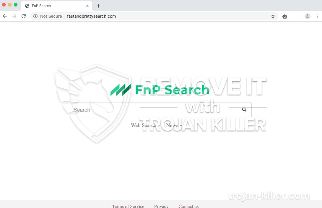 Fastandprettysearch.com virus