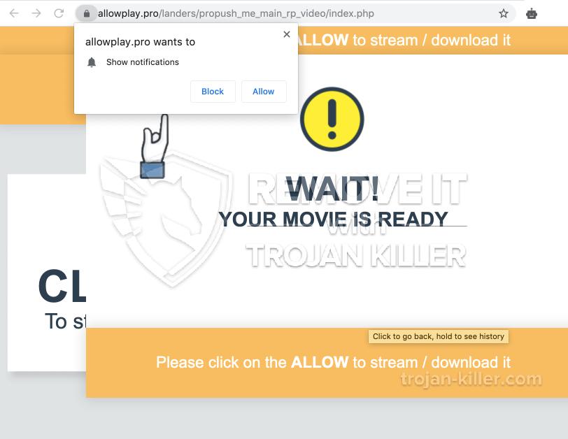 Allowplay.pro virus
